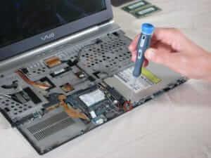 Быстро отремонтировать ноутбук Sone Vaio