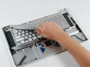 Замена клавиатуры на ноутбуке в Харькове