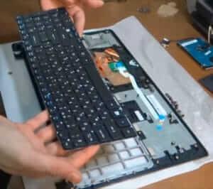 Ремонт клавиатуры на ноутбуке в Харькове
