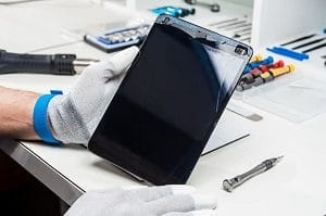 Замена сенсорного экрана планшета