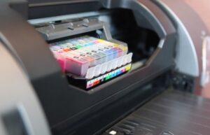 картриджи в принтере