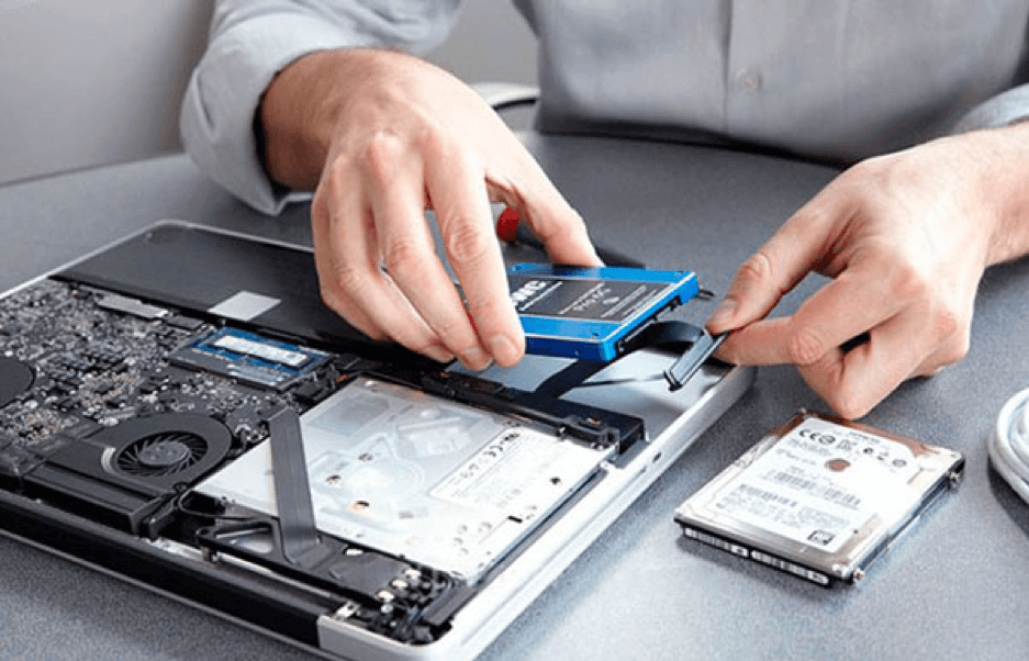 Установка SSD-диска в ноутбук